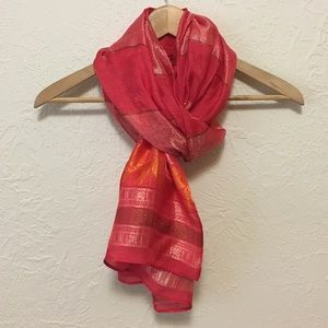 Accessories - Gorgeous Silk Elephant Scarf